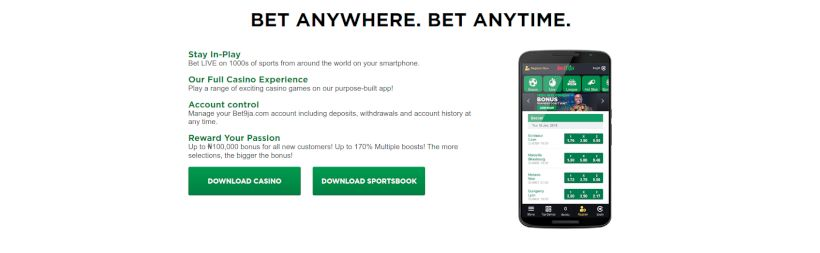 Bet9ja mobile betting